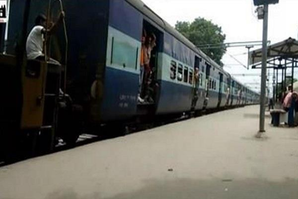 robbery with passengers of kosi express