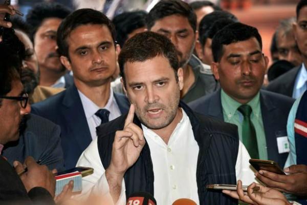 rafael deal rahul told congress lawyers no one will be fought ambani case