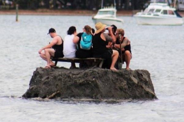 new zealanders build island in bid to avoid alcohol ban