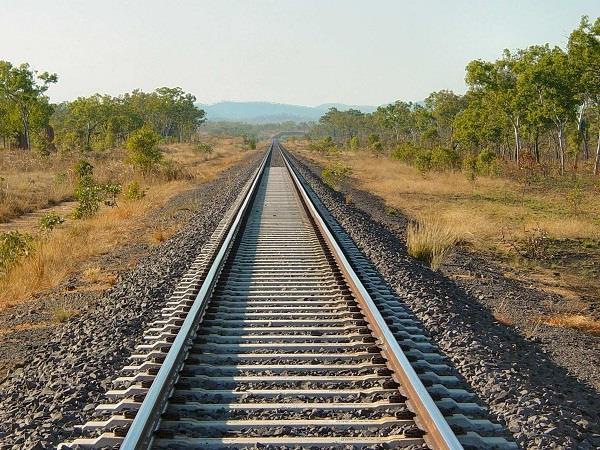 railway service has not yet been restored here