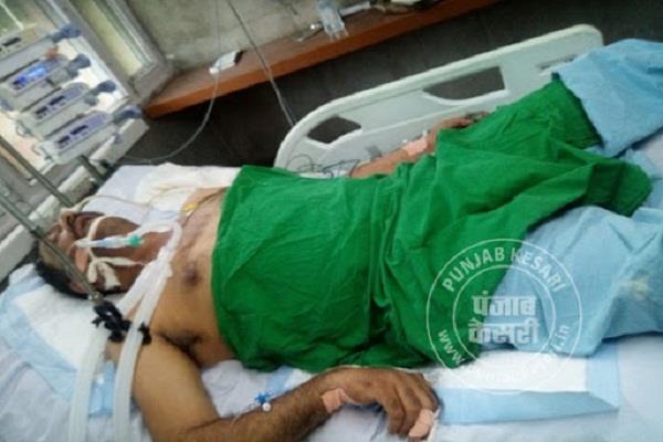 state bjp spokesperson ajay rana condition is fragile