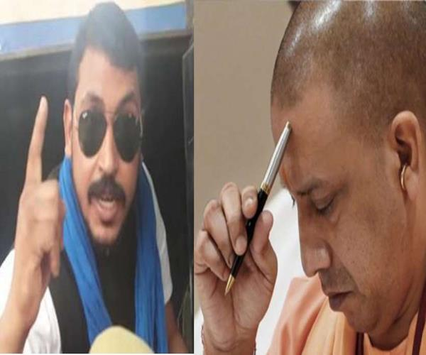 yogi plays dalit card all the lawsuits against chandrashekhar alias ravan