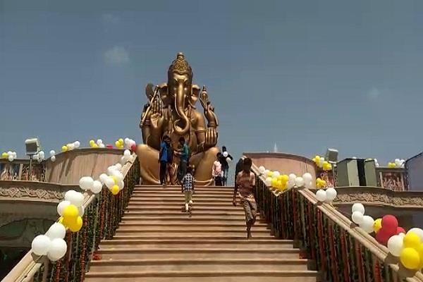 third ganapati festival celebrated in bahadurgarh