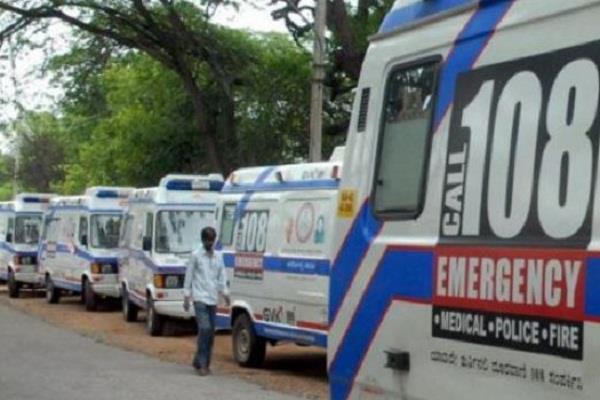 ambulance service stop in muzaffarpur