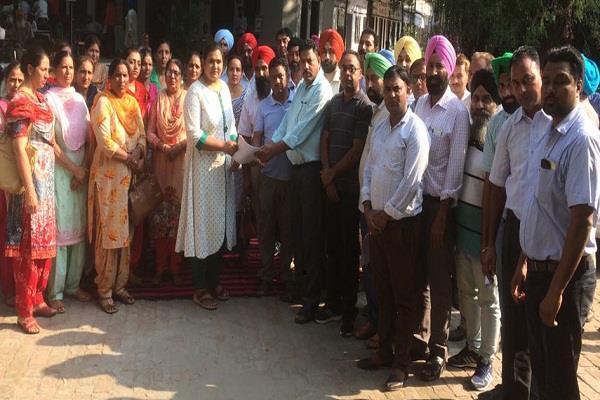 bpoo dtf to change work from sultanpur lodhi to village community fury
