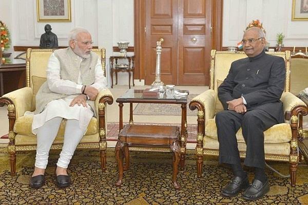 pm modi and president kovind give tribute to radhakrishnan