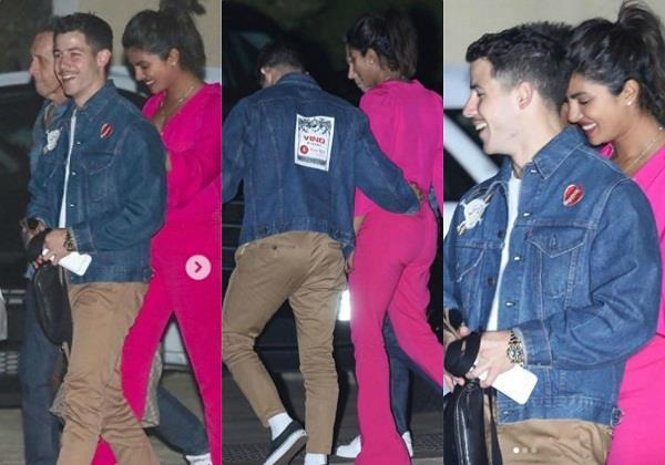 priyanka chopra and nick jonas on vacation in los angeles
