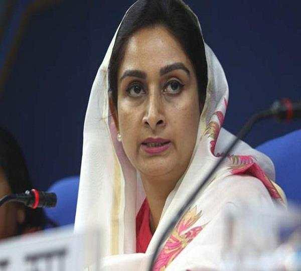 harsimrat kaur badal attack on navjot sidhu