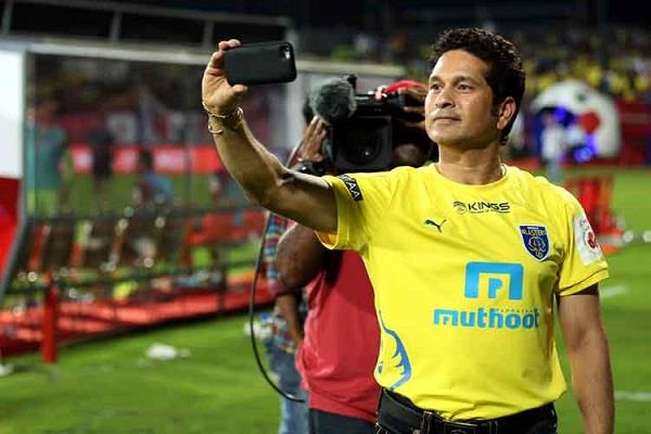 sachin said a part of my heart always beats up for the kerala blasters