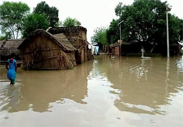 water level of ramganga and ganga reached danger mark