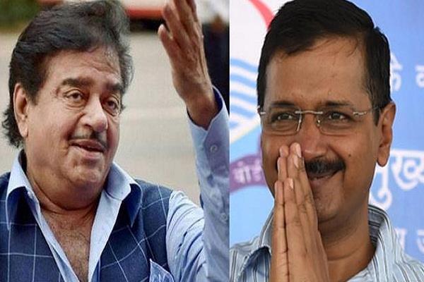aam aadmi party lok sabha elections shatrughan sinha arvind kejriwal