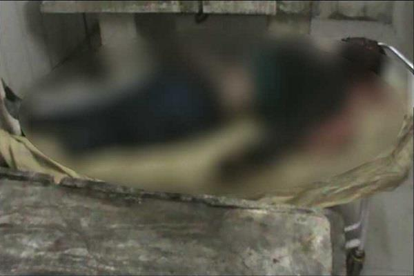 ruthless murder by crushing the head of the young man in palwal