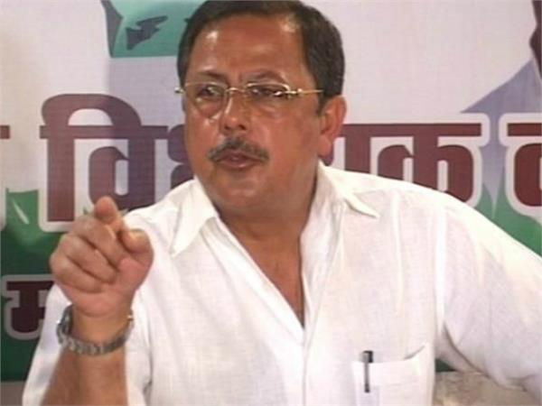ajay singh attacks on bjp