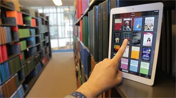 e public library is connecting people with book