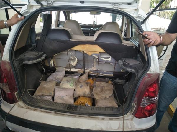 heroine recovered from smugglers in kathua
