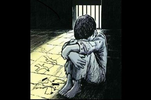 misdeed with little boy in faridabad