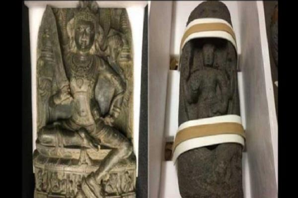 800 years old stolen idol from india