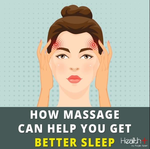 how massage can help you get better sleep