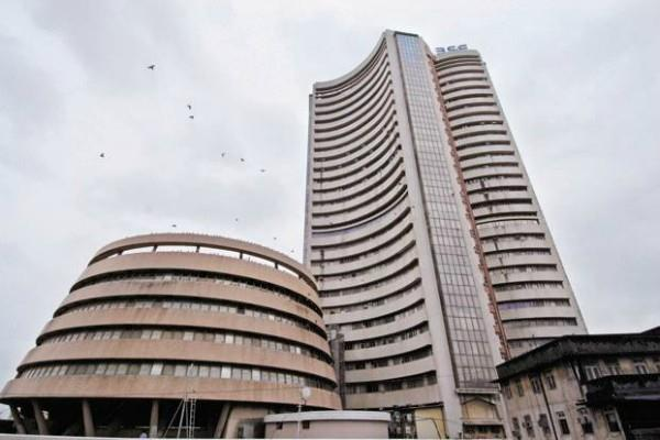 sensex down 332 points and nifty close to 11580
