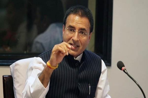 congress narendra modi randeep singh surjewala arun jaitley