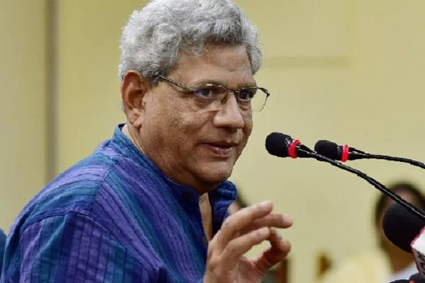 yechury says modi government truth comes in front