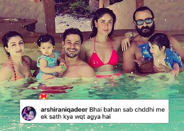 soha ali khan trolled for wearing bikini