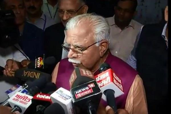 cm khattar strongly condemns the breach of the house