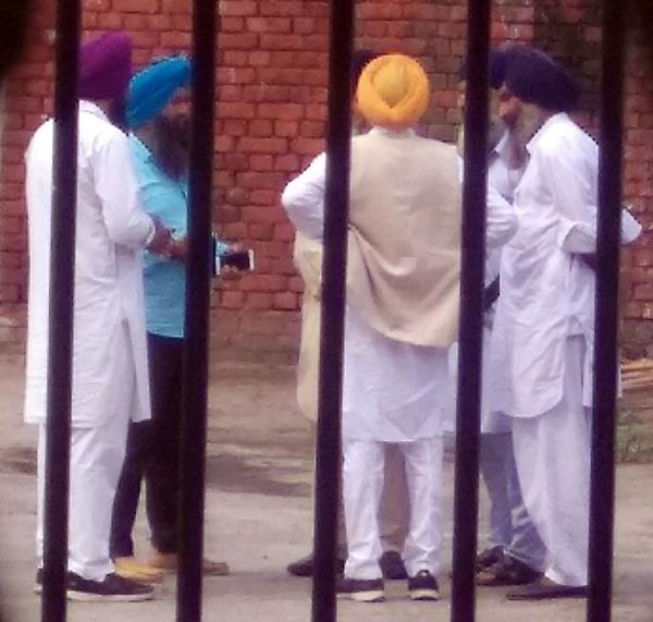 jathedar sukhdev singh bhaur was brought to central jail in a tight security