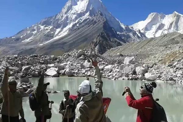 everest winner vishnu semwal climb shivling peak
