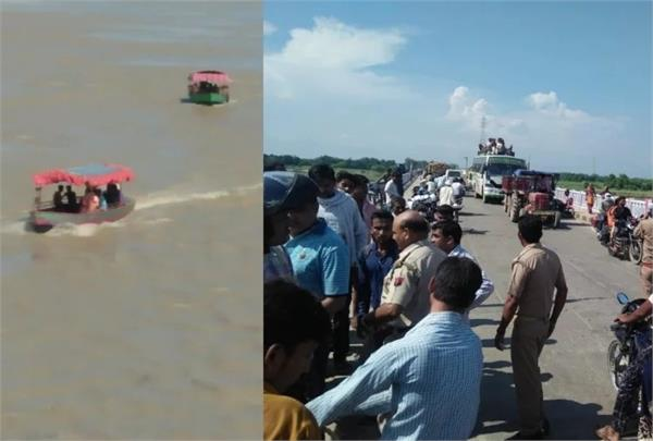 ayodhya 7 km submerged in sarayu river submerged