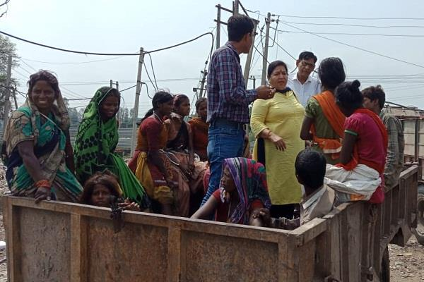six girls rescued by childline team