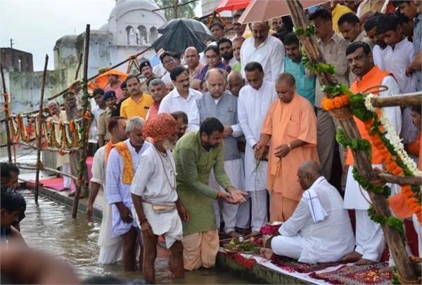 cm yogi will immerse the bones of atal s native village bateswar