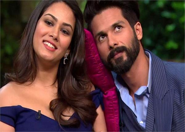 shahid and mira kapoor son s name