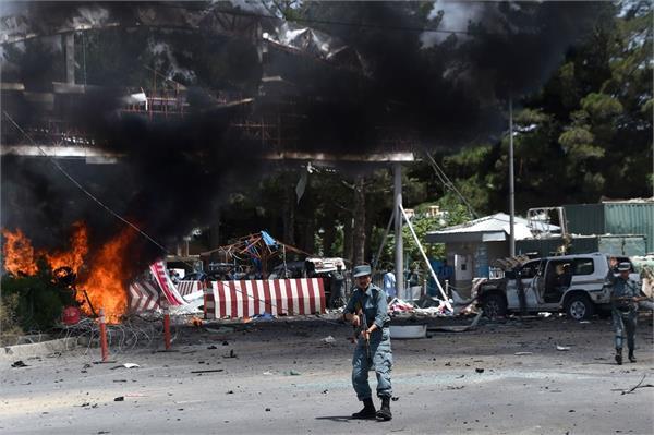 bomb explosions in northwestern afghanistan 2 police officers die