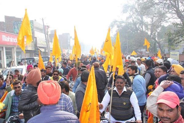 attempt to stop shiromani akali dal workers