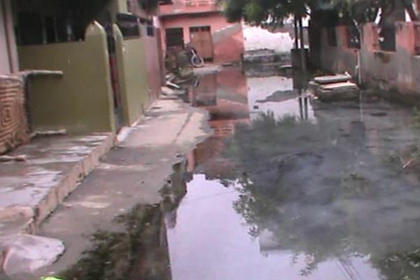 sewerage line problems in palwal colony