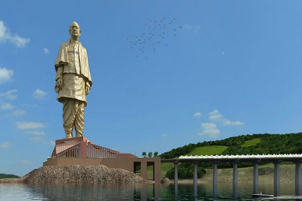 pm will inaugurate statue of unity of sardar patel on october 31