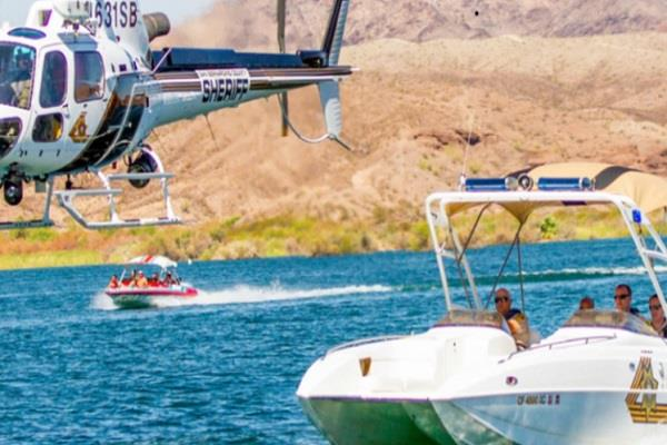 yachts collide in the colorado river 13 injured 2 missing
