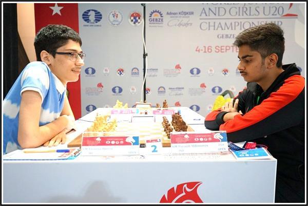 ide world junior and girls under 20 chess championship 2018
