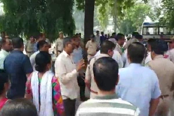 action taken to arrest striking employees