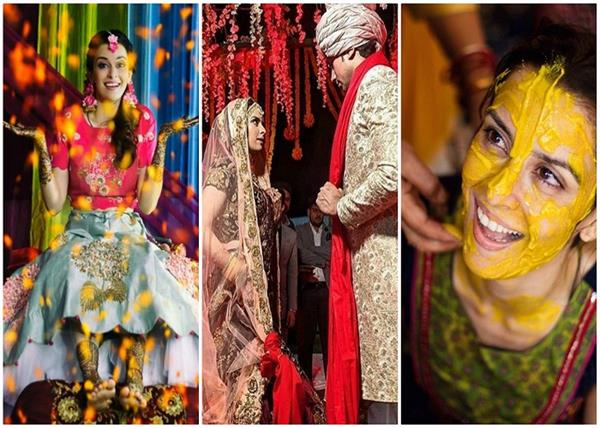 एकता के हुए सुमित, देखिए हल्दी से लेकर शादी तक की खूबसूरत तस्वीरें- Nari