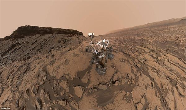 curiosity rover captures magnificent views of mars