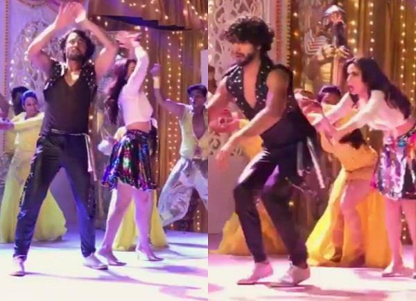 shraddha arya dance video on go go govinda song