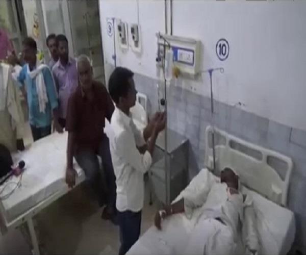 bjp leader injured in ground dispute