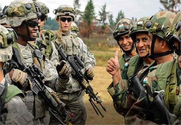 india us joint military exercises on hills of uttarakhand