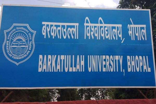 save families new courses started  barkatullah university