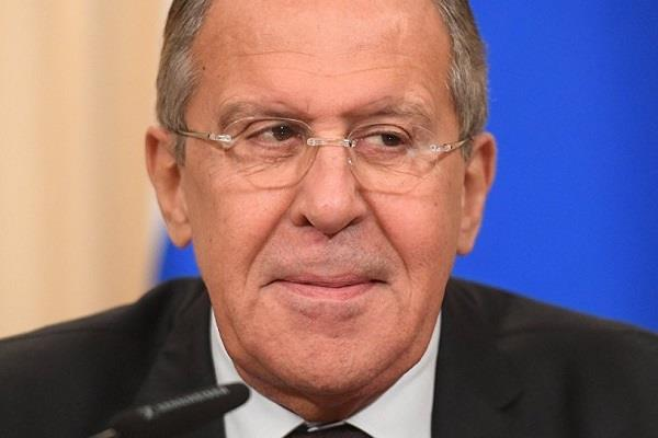 russian foreign minister condemns us  ban first  policy
