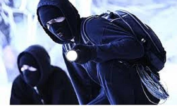 unknown thieves stole goods three times from the same house