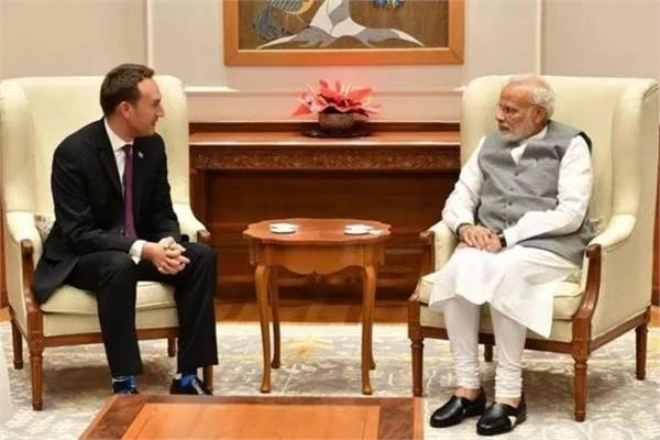uber officials meet pm modi to discuss flying taxis for india