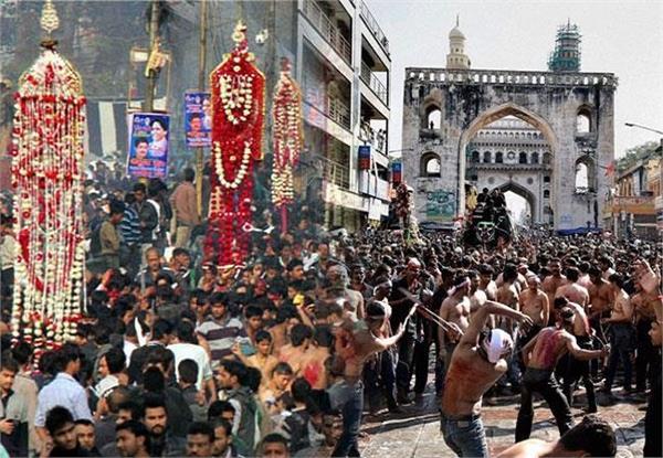 up muhram directed police administration to keep alert issued alert
